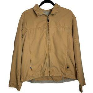 L.L Bean Canvas Field Jacket Size Large 0 AKC2